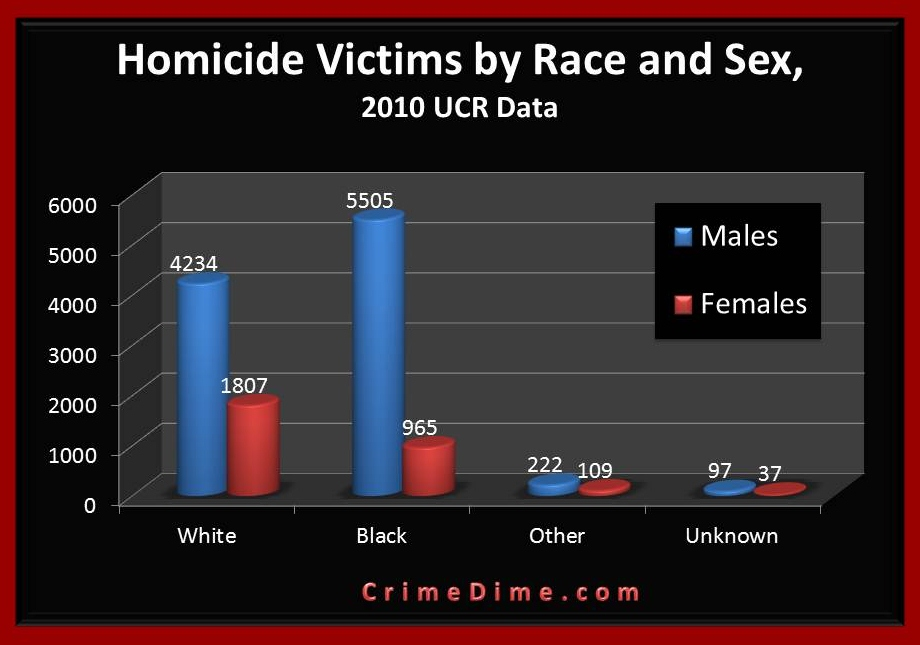 homicides by race of offender and victim relationship